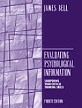Evaluating Psychological Information (4TH 05 Edition)