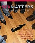 Sex Matters The Sexuality & Society Reader
