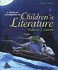 Critical Handbook of Childrens Literature