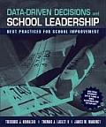 Data Driven Decisions and School Leadership