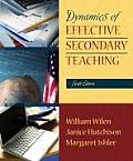 Dynamics of Effective Secondary Teaching (6TH 08 Edition)