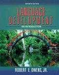 Language Development An Introduction 7th Edition