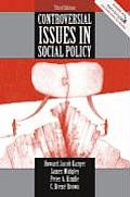 Controversial Issues in Social Policy Cover