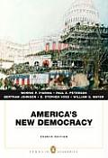 America's New Democracy (4TH 08 - Old Edition) Cover