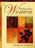 Thinking About Women: Sociological Perspectives on Sex and Gender (8TH 09 - Old Edition)
