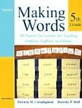 Making Words Fifth Grade
