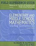 Elementary and Mid. School Mathematics -field . Guide (7TH 10 - Old Edition) Cover