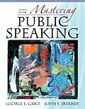 Mastering Public Speaking (Myspeechlab) Cover