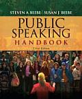Public Speaking Handbook (3RD 10 - Old Edition)
