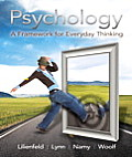 Psychology: A Framework for Everyday Thinking Cover