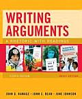Writing Arguments, Brief Edition: A Rhetoric with Readings Cover