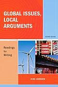 Global Issues Local Arguments Readings for Writing