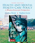 Health and Mental Health Care Policy (3RD 10 - Old Edition)