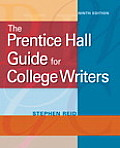 The Prentice Hall Guide for College Writers (Mycomplab) Cover