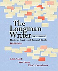 Longman Writer : Rhet., Reader, and Research - Brief (8TH 11 Edition)
