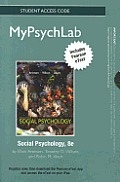 New Mypsychlab With Pearson Etext Standalone Access Card For Social Psychology