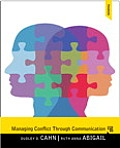 Managing Conflict Through Communication - Text Only (5TH 14 Edition)