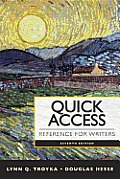 Quick Access Reference for Writers - Text Only (7TH 13 Edition)
