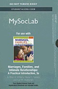 Marriages, Families, & Intimate Relationships Student Access Code: A Practical Introduction
