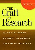 The Craft of Research (Chicago Guides to Writing, Editing, & Publishing) Cover