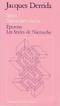 Spurs Nietzsches Styles Eperons Les Styles de Nietzsche