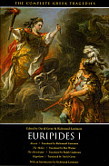 Euripides #1: The Complete Greek Tragedies: Euripides I Cover