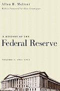 History of the Federal Reserve Volume 1 1913 1951