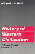History of Western Civilization 6TH Edition Cover