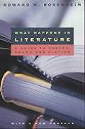 What Happens In Literature A Guide To Poetry