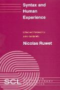 Syntax and Human Experience