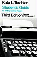 Students Guide for Writing College Pape 3RD Edition