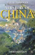A History of China (Palgrave Essential Histories) Cover