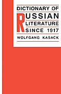Dictionary of Russian literature since 1917 Cover