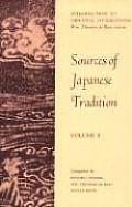 Sources of Japanese Tradition: Volume 2