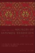 Introduction To Asian Civilizations #1: Sources of Japanese Tradition Cover