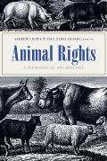 Animal Rights A Historical Anthology