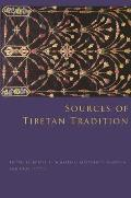 Sources of Tibetan Tradition (Introduction to Asian Civilizations) Cover