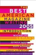 The Best American Magazine Writing (Best American Magazine Writing) Cover