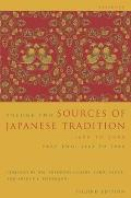 Sources of Japanese Tradition, Volume 2: Part Two: 1868 to 2000