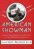 American Showman: Samuel 'Roxy' Rothafel and the Birth of the Entertainment Industry, 1908-1935 (Film and Culture) Cover