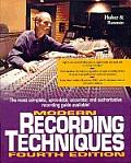 Modern Recording Techniques 4TH Edition