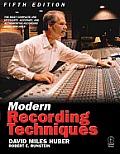 Modern Recording Techniques 5th Edition