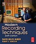 Modern Recording Techniques 6TH Edition Cover