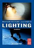 Motion Picture and Video Lighting - With DVD (2ND 08 Edition) Cover