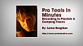 Pro Tools in Minutes #5 [E-ONLY PRODUCT]: Recording to Playlists & Comping Tracks