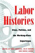 Labor Histories Class Politics & the Working Class Experience