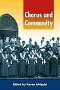 Chorus and Community [With CD]