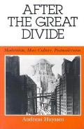 After the Great Divide Modernism Mass Culture Postmodernism