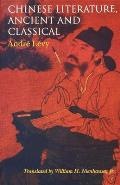 Chinese Literature, Ancient and...