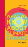What We Know about Climate Change (Boston Review Books) Cover